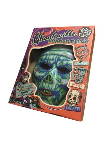 "Glow-In-The-Dark Mummy Vacuform 23"" Wall Hanger Décor"