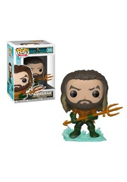 Pop! Heroes Aquaman-Arthur Curry in Hero Suit