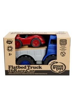 Green Toys Flatbed  with Red Race Car Alt 3