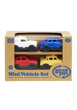Green Toys Mini Vehicle 4-Pack