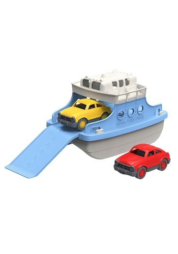 Green Toys Ferry Boat Blue and White