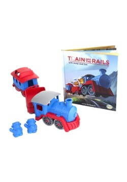 Green Toys Train and Storybook Gift Set