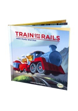 Green Toys Train and Storybook Gift Set Alt 1