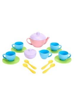 Green Toys Tea Set Pink