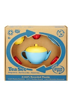Green Toys Tea Set Blue Alt 1