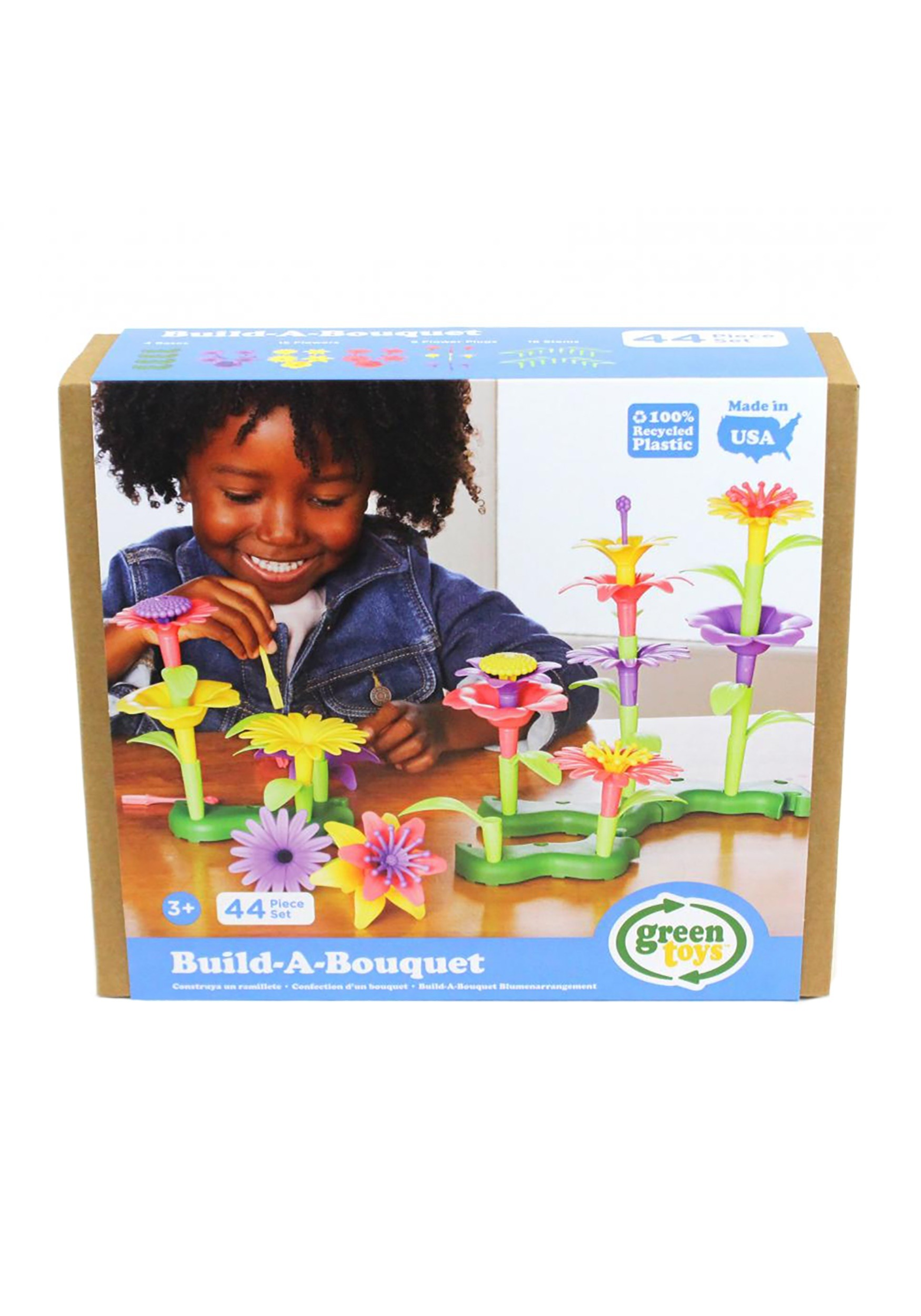 Green Toys Build-a-Bouquet Play set