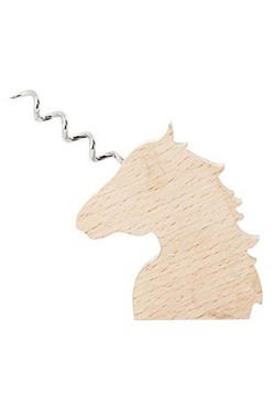 Unicorn Wooden Corkscrew