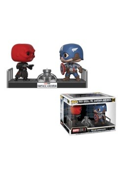 Pop! Movie Moments- Marvel: Captain America vs. Red Skull