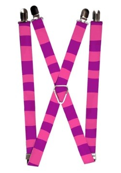 "Cheshire Cat Alice in Wonderland 1"" Suspenders"