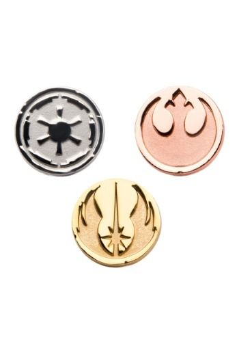 Star Wars Imperial, Jedi and Rebel Symbols Pin Pack