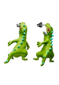 Rugrats Biting Reptar Earrings