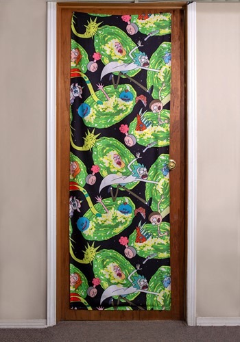 "Rick and Morty Portals 26"" x 78"" Door Banner"