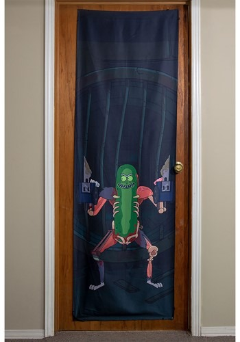 "Rick and Morty Pickle Rick 26"" x 78"" Door Banner"