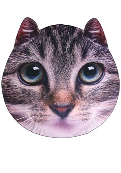 "60"" Photo Realistic Cat Face Blanket"