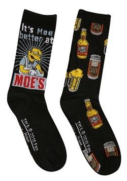 Simpsons Moe's Tavern/ Duff Beer 2-Pack Casual Men's Socks