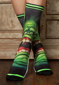 Men's Ghostbusters Slimer Crew Socks