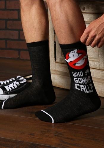 Men's Ghostbusters- Who ya Gonna Call? Crew Socks