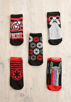 Women's Star Wars The Last Jedi 5-Pair Low-Cut Socks