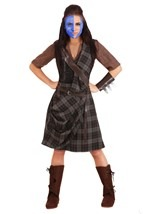 Braveheart Women's Warrior Costume Alt 1