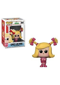 Pop! Movies The Grinch Movie - Cindy-Lou Who Figure