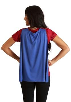 Womens Wonder Woman Cape Costume T-Shirt