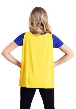 Batgirl Cape Costume T-Shirt For Women Alt