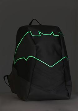 Batman Green EL Lighted 3 Panel Powered Backpack Alt1