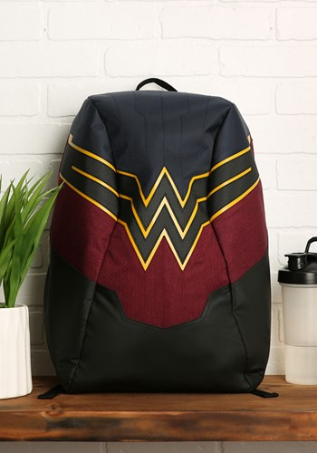 Wonder Woman EL Lighted 3 Panel Powered Backpack
