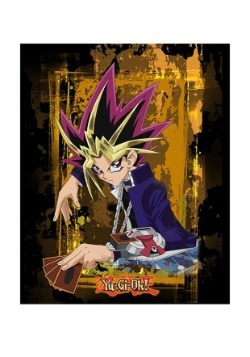"Yu-Gi-Oh! 48"" x 60"" Digital Print Throw"