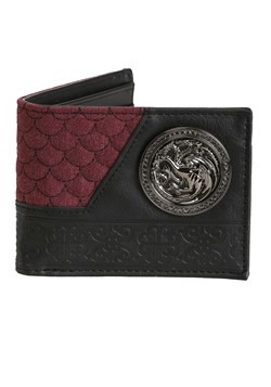 Game of Thrones House Targaryen Bi-Fold Wallet