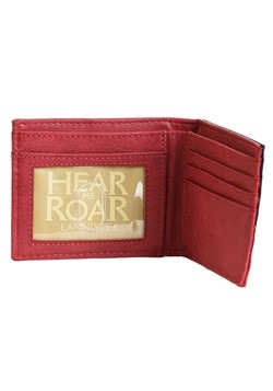 Game of Thrones House Lannister Bi-Fold Wallet Alt
