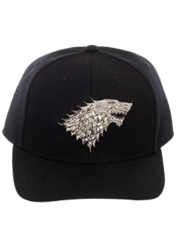 Game of Thrones House Stark Snapback w/ 3D Metal Sigil
