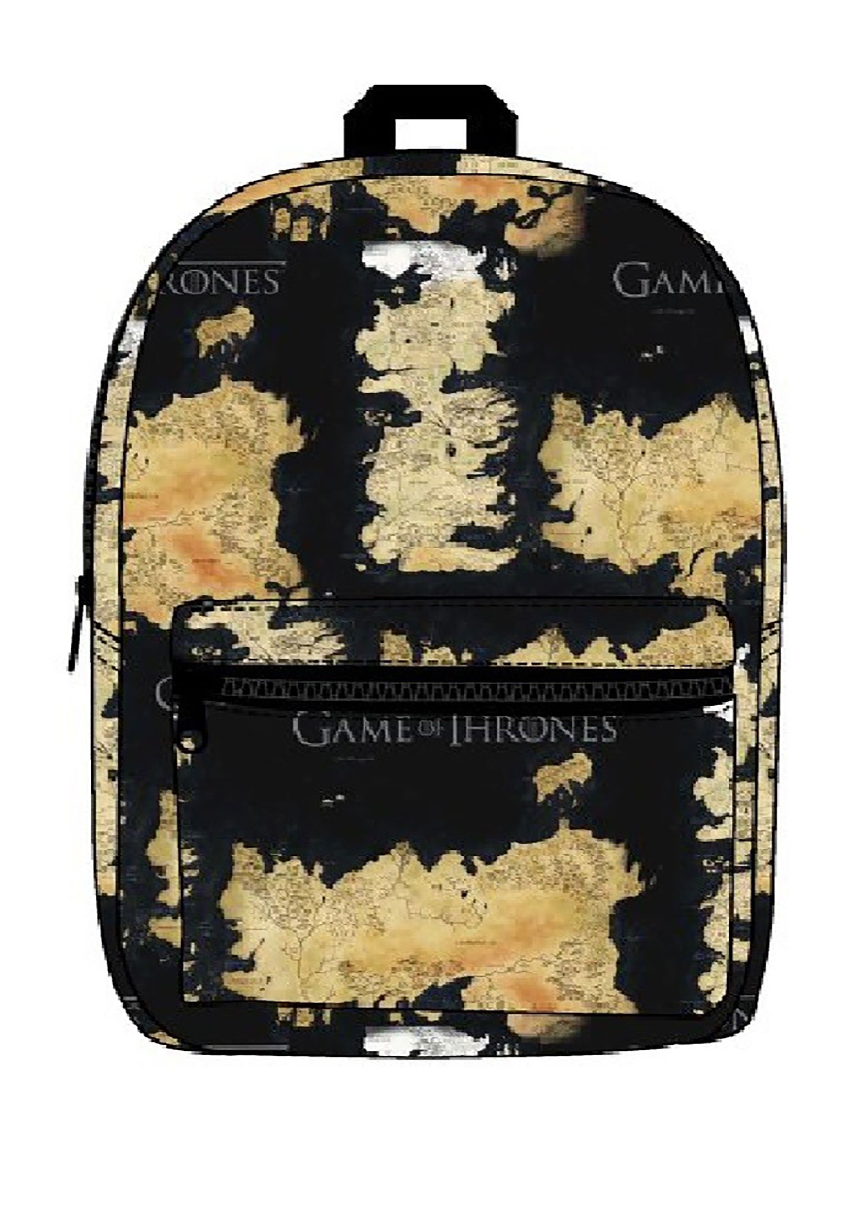 Game of Thrones Westeros and Essos Map Backpack Bag