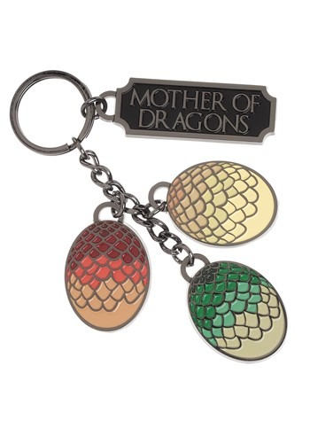 HBO Game of Thrones Mother of Dragons Keychain