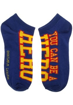 My Hero Academia 5 Pack Ankle Socks Alt 2