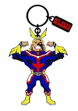 My Hero Acadamia All Might Enamel Filled Keychain