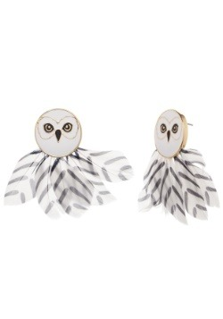 Harry Potter Hedwig Feather Earrings