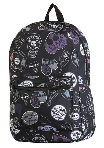 Nightmare Before Christmas All Over Print Backpack