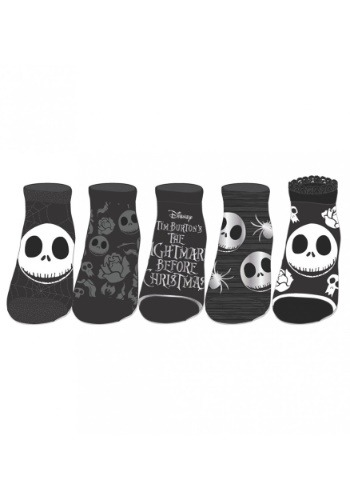 Nightmare Before Christmas 5-pack Ankle Socks