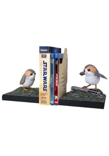 Porg Bookends