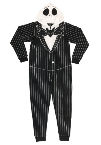 Men's Jack Skellington Union Suit