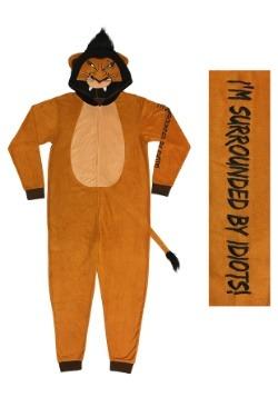 Lion King Mens Scar Union Suit