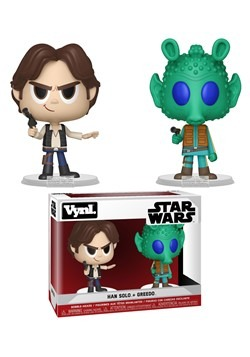 Funko VNYL Star Wars 2 Pack Han Solo & Greedo