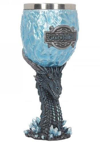 Game of Thrones 18.5cm Viserion White Walker Goblet