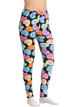 Two Left Feet Women's Bittersweet Candy Hearts Leggings