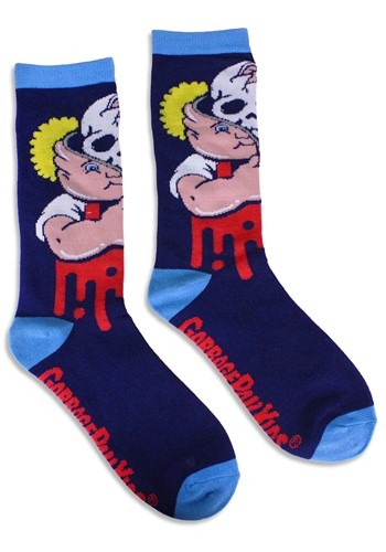 Adult Garbage Pail Kids Bony Tony Socks