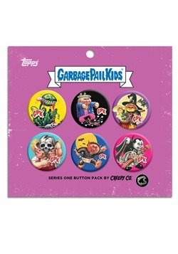 Garbage Pail Kids Button Set