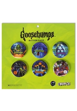 Goosebumps Button Set