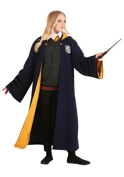 Adult Vintage Harry Potter Hogwarts Hufflepuff Rob Alt 1