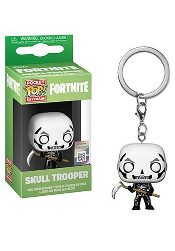 Pop! Keychain: Fortnite- Skull Trooper